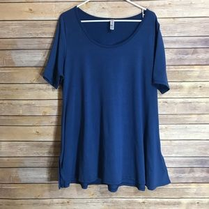 LuLaRoe Perfect T.    Royal blue